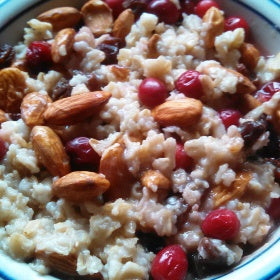 The BEST Fruit-n-Nut Oatmeal Bowl