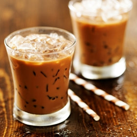 Iced Spicy Cherry Chai Latte