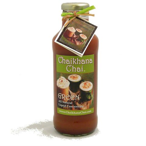 16 oz. Bottle - Green Tea Chai