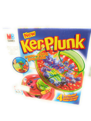 MB Games Ker-Plunk Marble Game ~ A nerve racking game of skill Complete