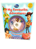 Disney My Favourite Adventures With 5 Read Along Stories (cd) RRP £ 24.95