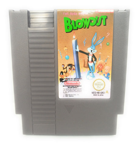 The Bugs Bunny Blowout NES (PAL A) - Cart Only - Tested & Fully Working!