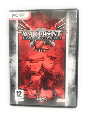 WAR FRONT TURNING POINT PC Cd Rom Complete