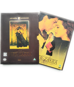 VEER ZAARA YRF 2 DISC SET - BOLLYWOOD DVD - Sharukh Khan,Rani Mukherji, Pritty