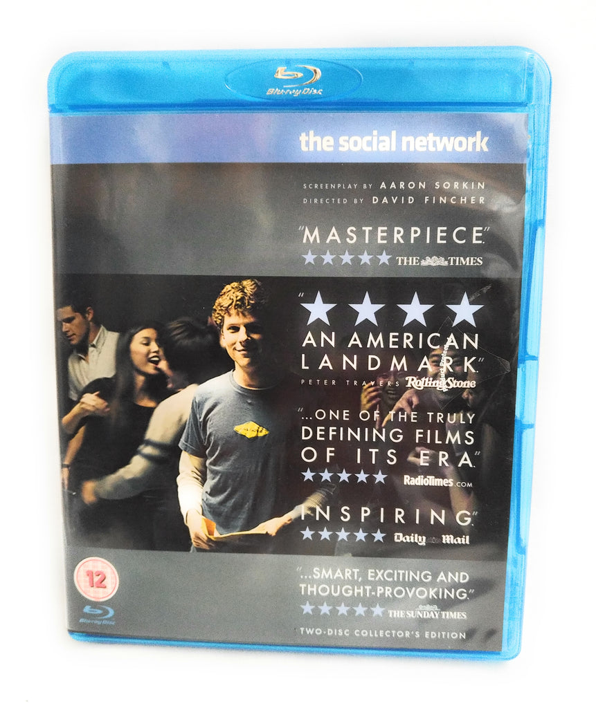 The Social Network (2-Disc Collector's Edition) [Blu-ray] [2011] [Region Free]