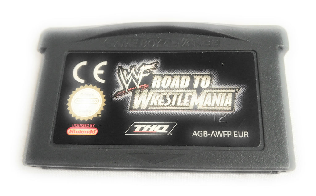 WWF ROAD TO WRESTLEMANIA * NINTENDO GAMEBOY ADVANCE GBA 100% GENUINE