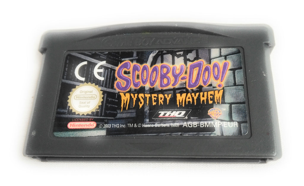 SCOOBY DOO MYSTERY MAYHEM * GAMEBOY ADVANCE SP DS GAME . 100% GENUINE