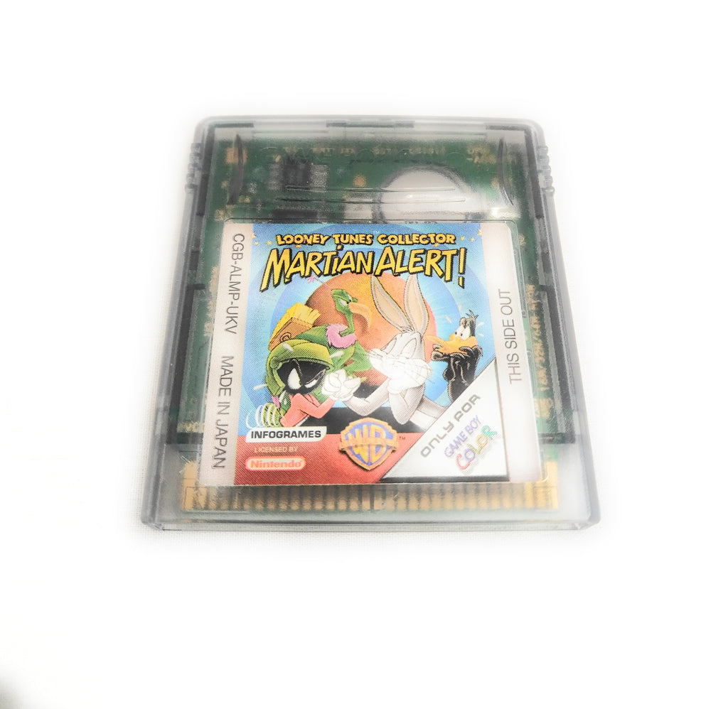Looney Tunes Collector Martian Alert! (Nintendo Gameboy Color, 2000)