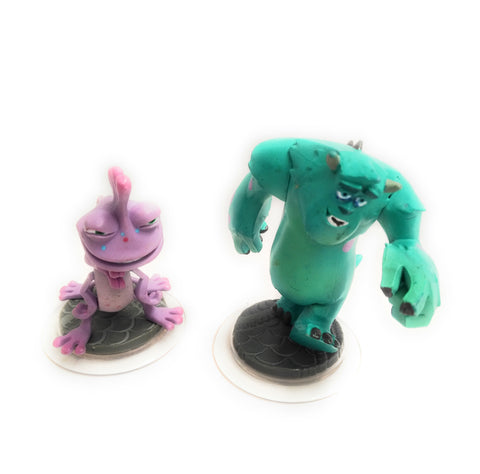 DISNEY INFINITY SULLEY + RANDALL MONSTERS UNIVERSITY PS4 XBOX ONE