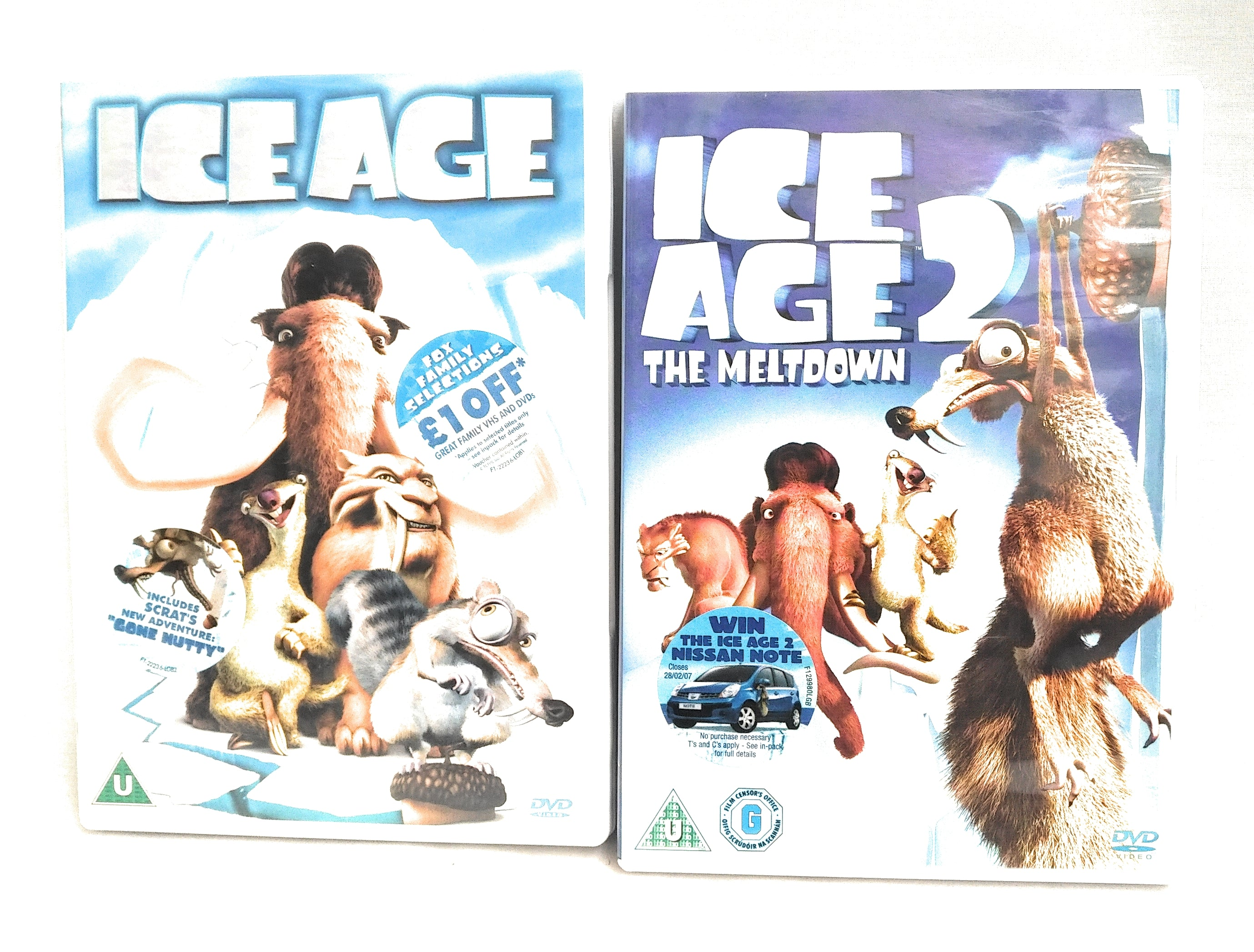 Ice Age 1 And 2 DVD The Meltdown – sap-media