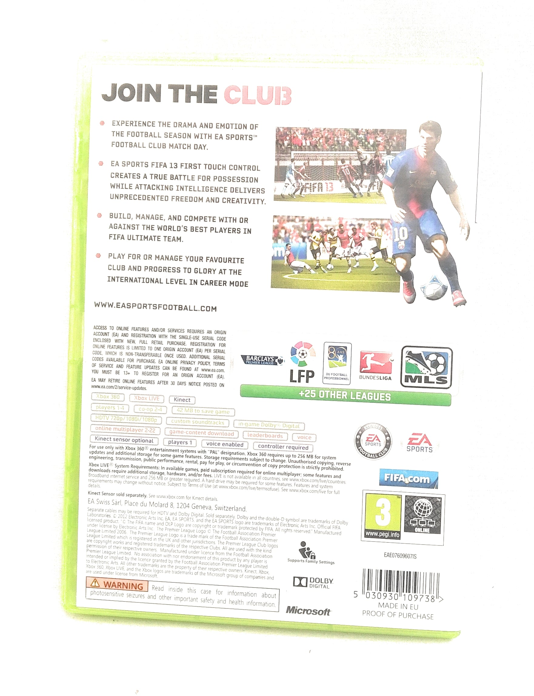 FIFA 13 For Microsoft Xbox 360 Boxed (Free UK Post)