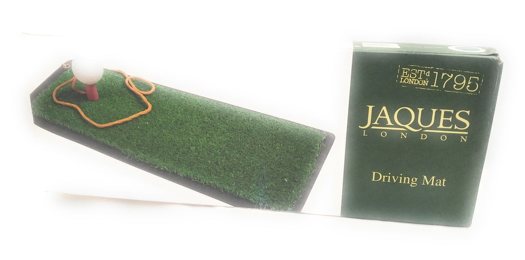 Jaques Garden Game Driving Mat Golf Boxed