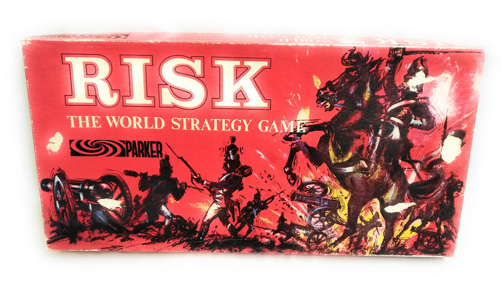 RISK BOARD GAME BY PARKER VINTAGE EDITION DATED 1963