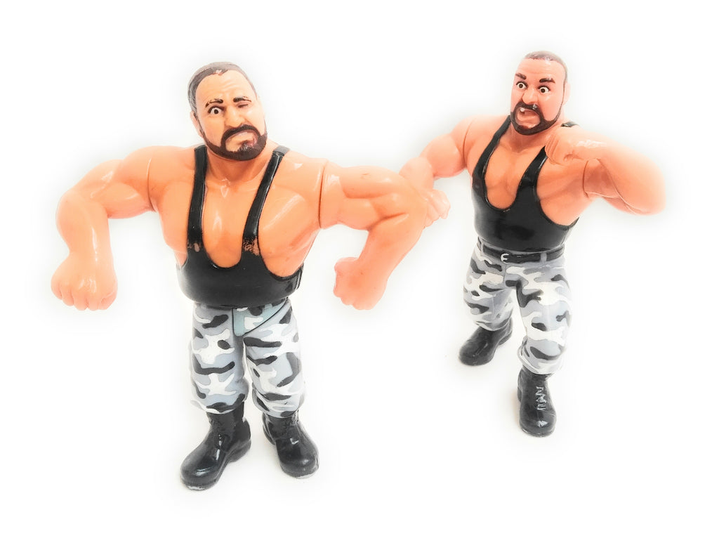 Bushwackers Butch & Luke - WWF Tag Team - 1991 - Titan Sports - Hasbro