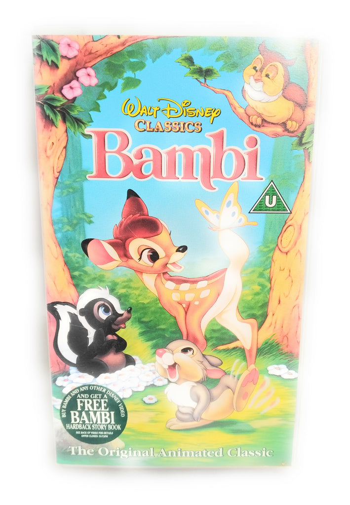 Bambi (VHS 1994) WALT DISNEYS CLASSIC MOVIE, COLLECTABLE