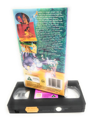 Walt Disney Classics Aladdin VHS Rare Collectable