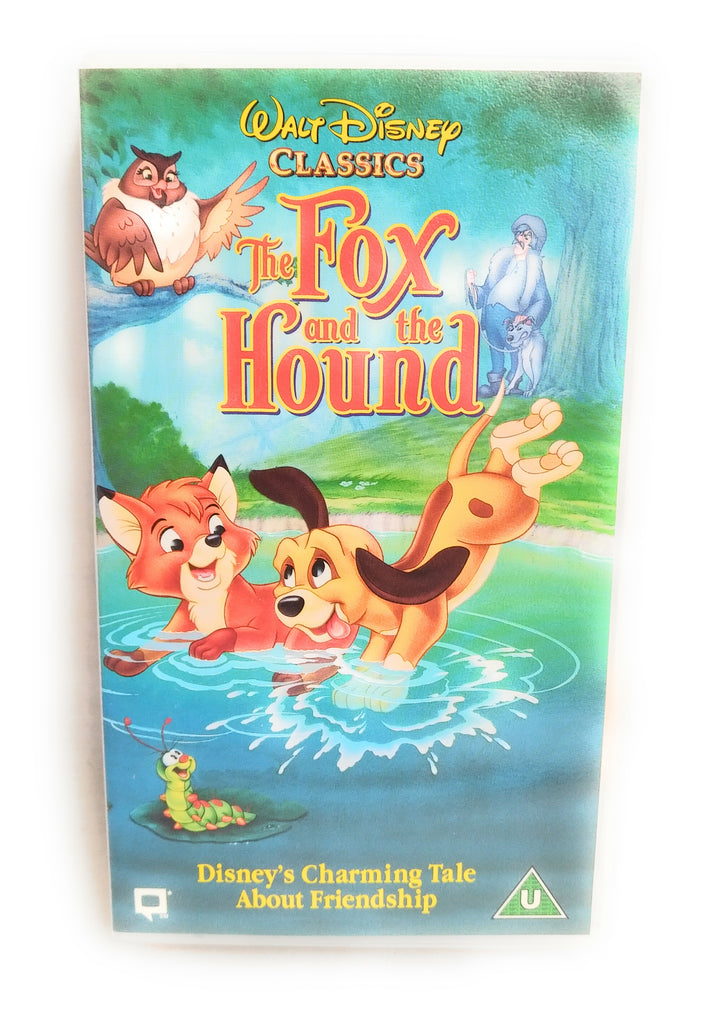 THE FOX AND THE HOUND VIDEO VHS PAL UK WALT DISNEY
