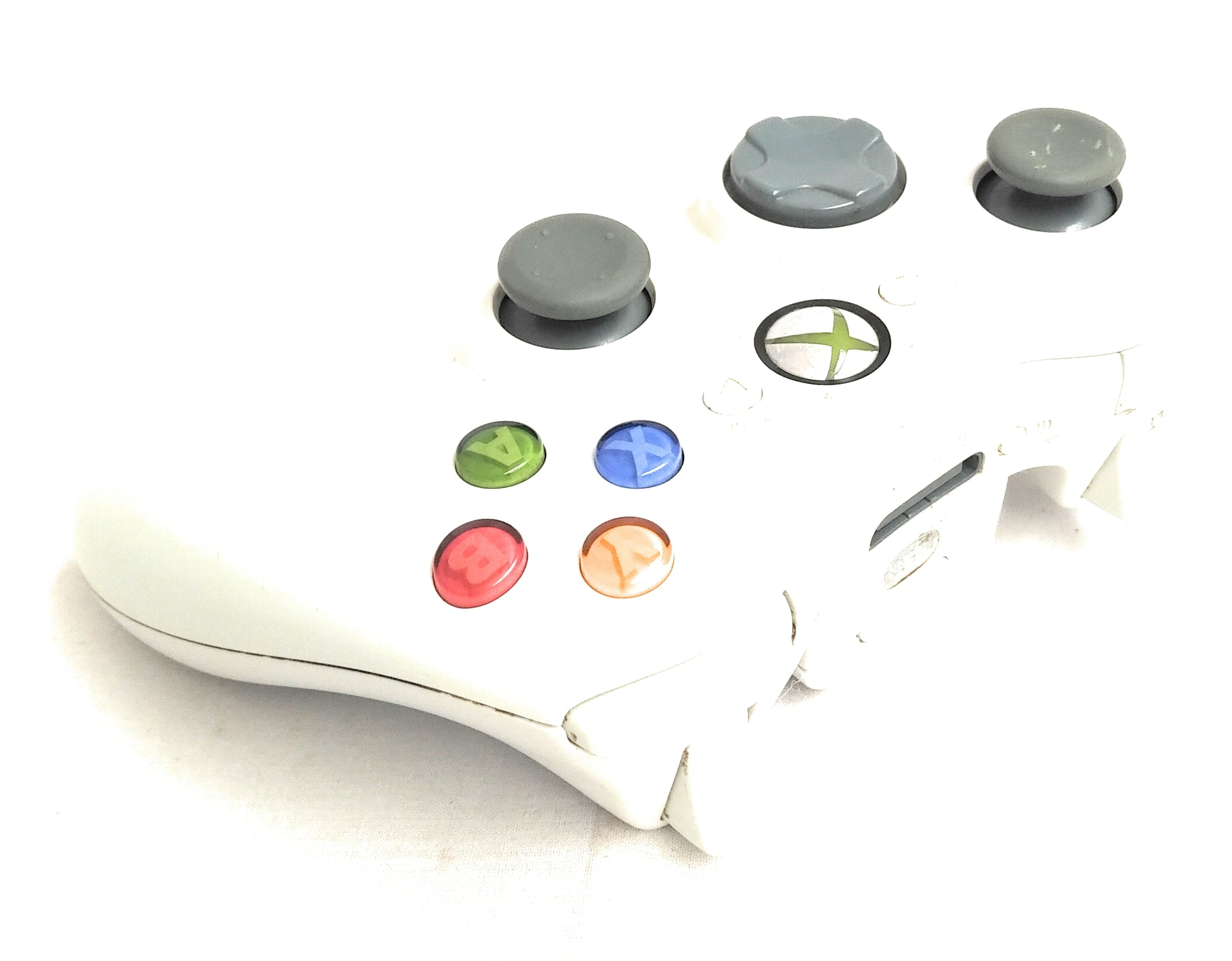 OFFICIAL Xbox 360 Wireless Controller Official Elite White & Charge Cable