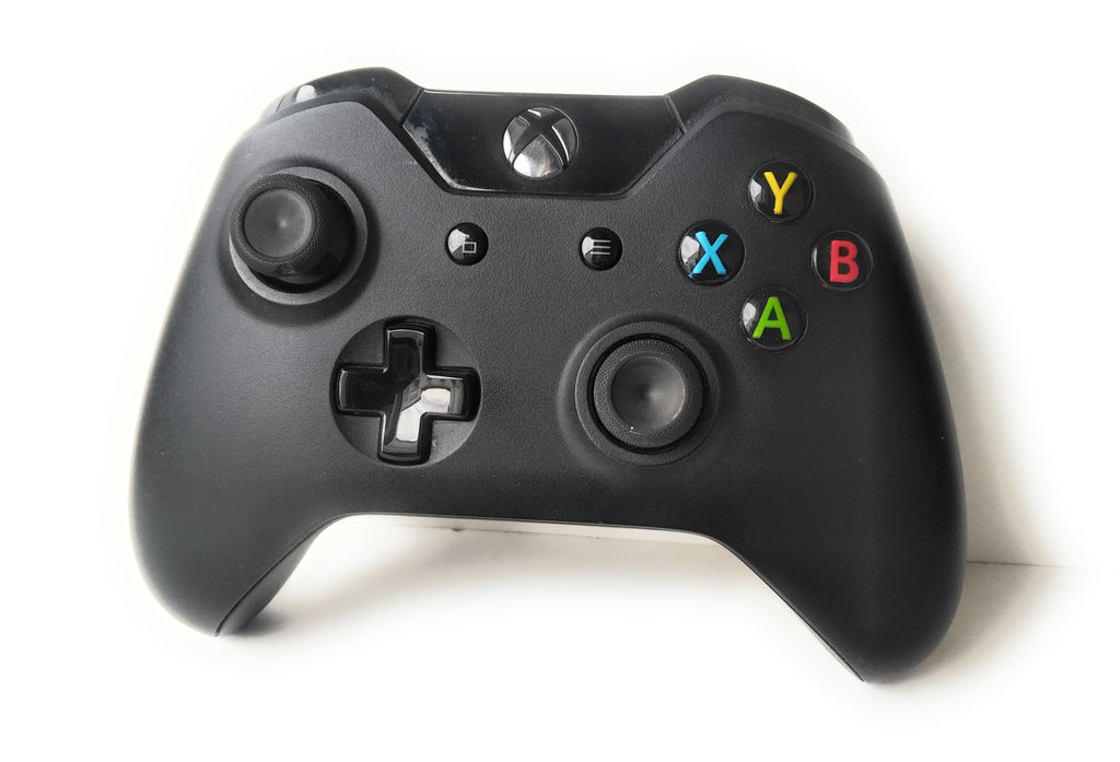 Xbox One - Genuine Official Wireless Controller - Black Microsoft Xbox One