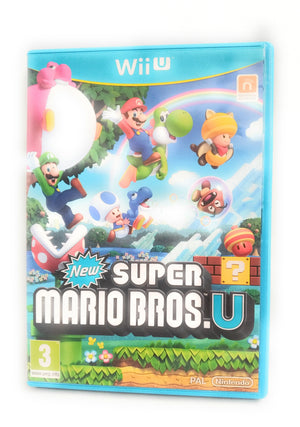 'New' Super Mario Bros Nintendo Wii U PAL