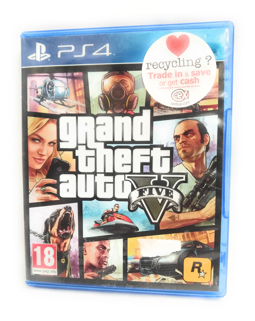 GRAND THEFT AUTO 5 FIVE (GTA V) - PS4 Sony Playstation