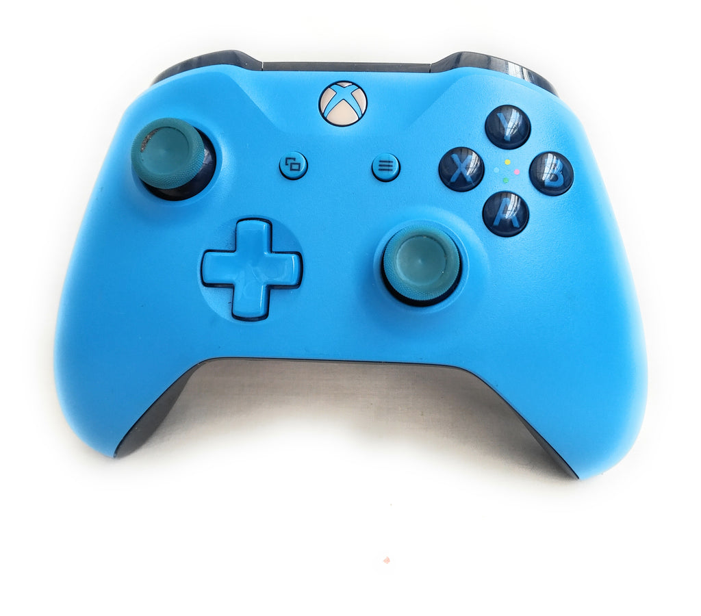 Xbox One - Genuine Official Wireless Controller - Blue Limited Edition Microsoft Xbox One