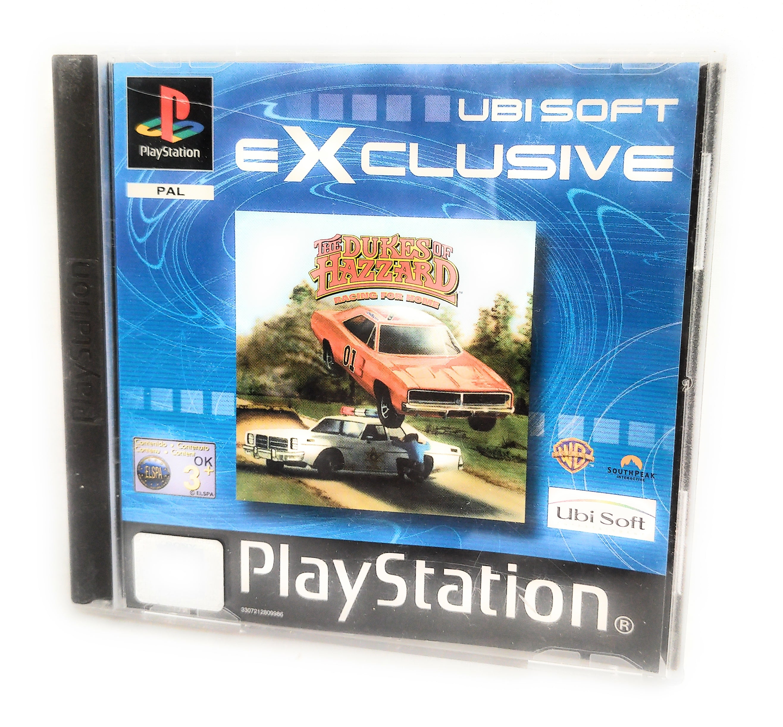 The Dukes of Hazzard Racing for Home Sony Playstation 1 Game Complete Manual