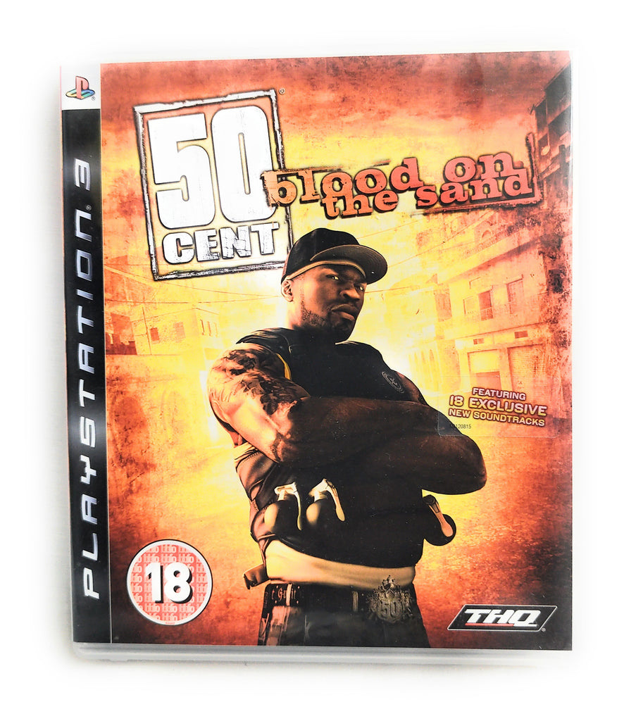 50 Cent Blood on the Sand PS3 PlayStation 3