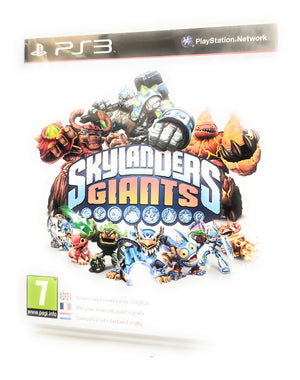 PS3 Skylanders Giants Game