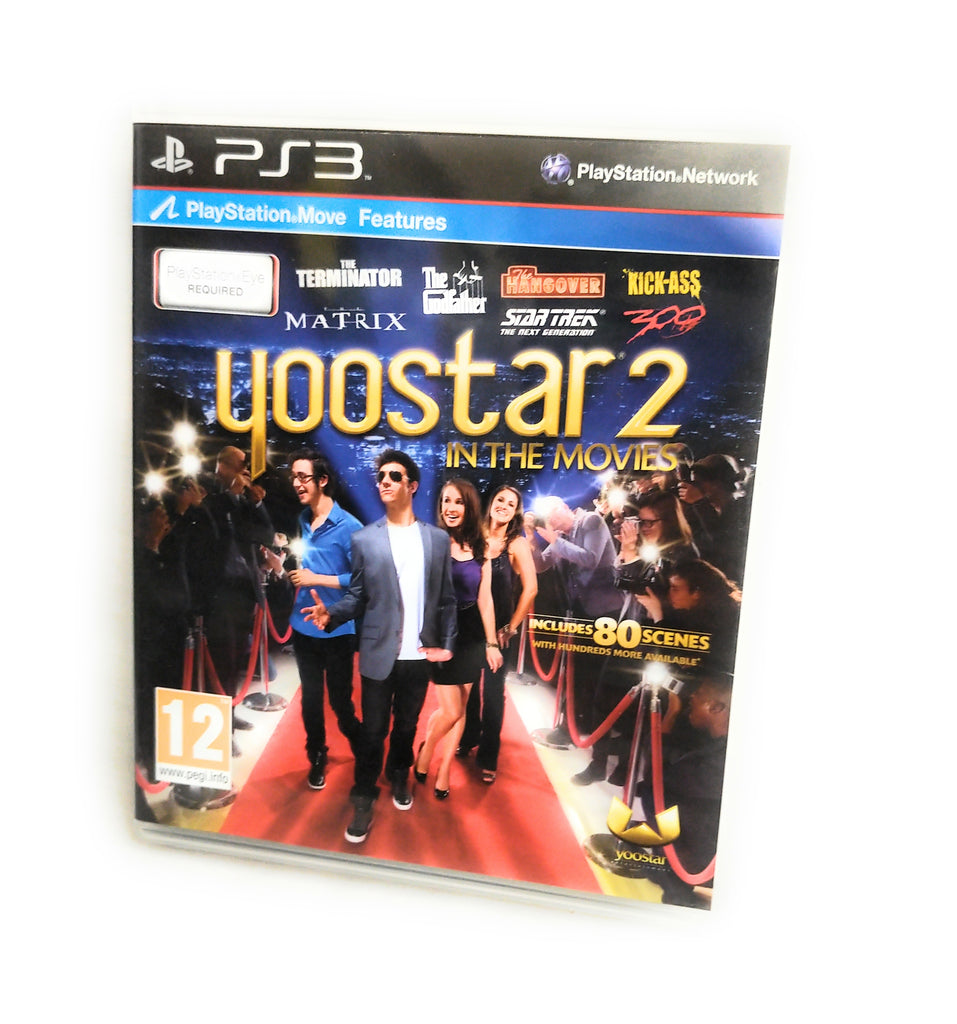 Yoostar 2 In the Movies PS3 Game