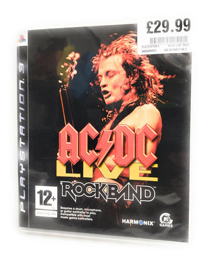 AC/DC Live Rockband for PS3
