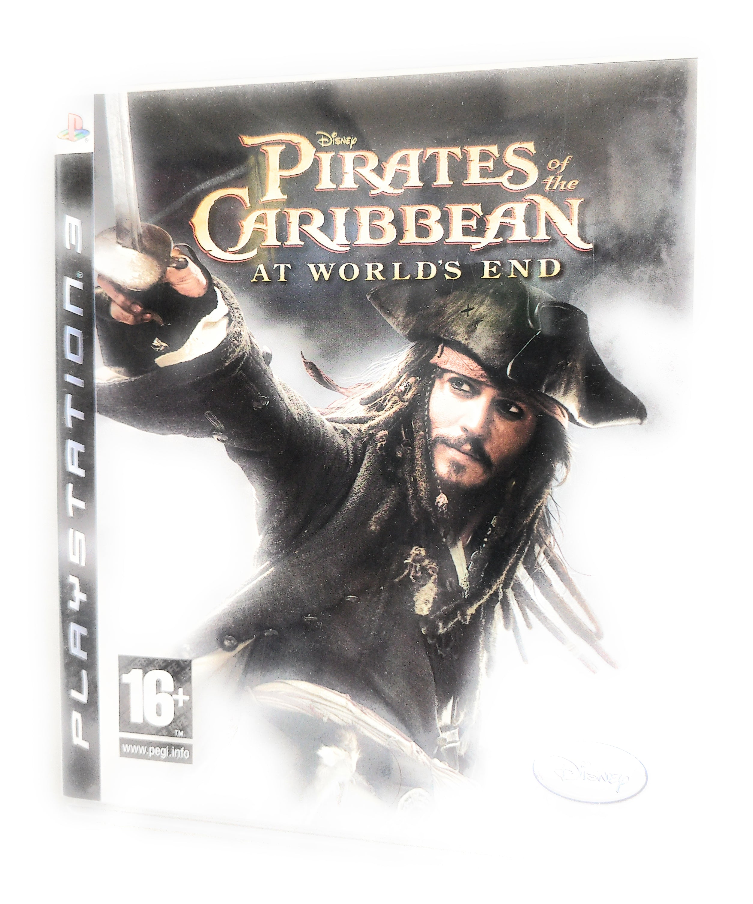 Sony Playstation 3 PS3 Console Game - Pirates of the Caribbean at Worlds End