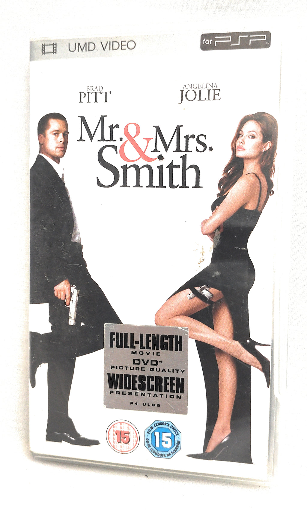 Mr and Mrs Smith PSP movie (UMD 2009)