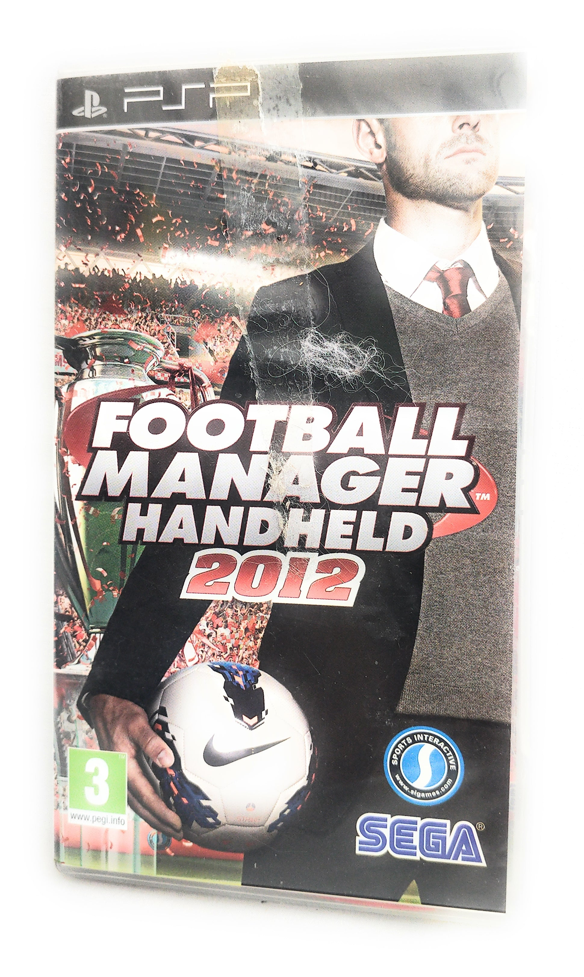 Football Manager Handheld 2012 - Sony PSP - UMD - PAL - Manual