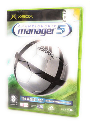 Championship Manager 5 (Microsoft Xbox, 2005) - European Version