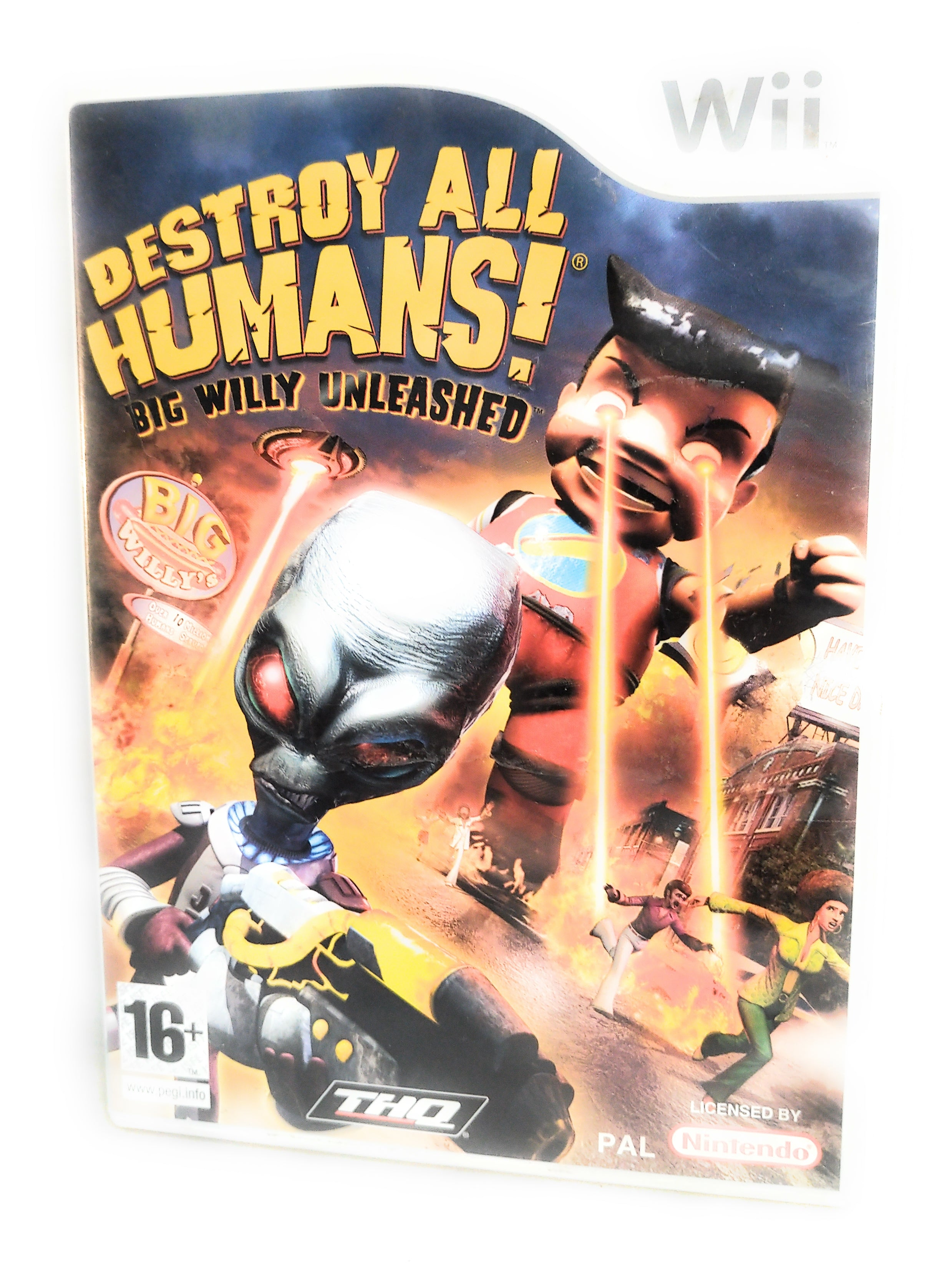 Destroy All Humans! Big Willy Unleashed Nintendo Wii Game
