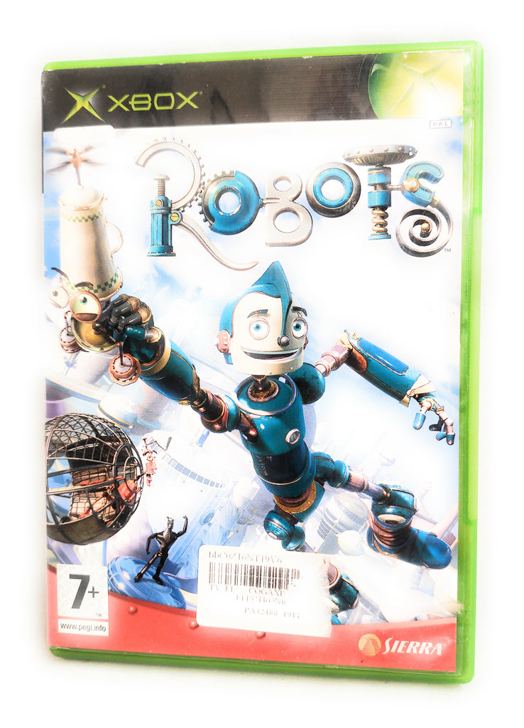 ROBOTS - KIDS CHILDS XBOX GAME GAME OF FILM - FAST POST - ORIGINAL & COMPLETE