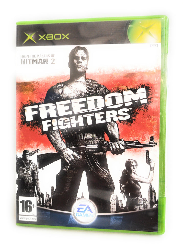 Freedom Fighters (Xbox) Brand New Sealed