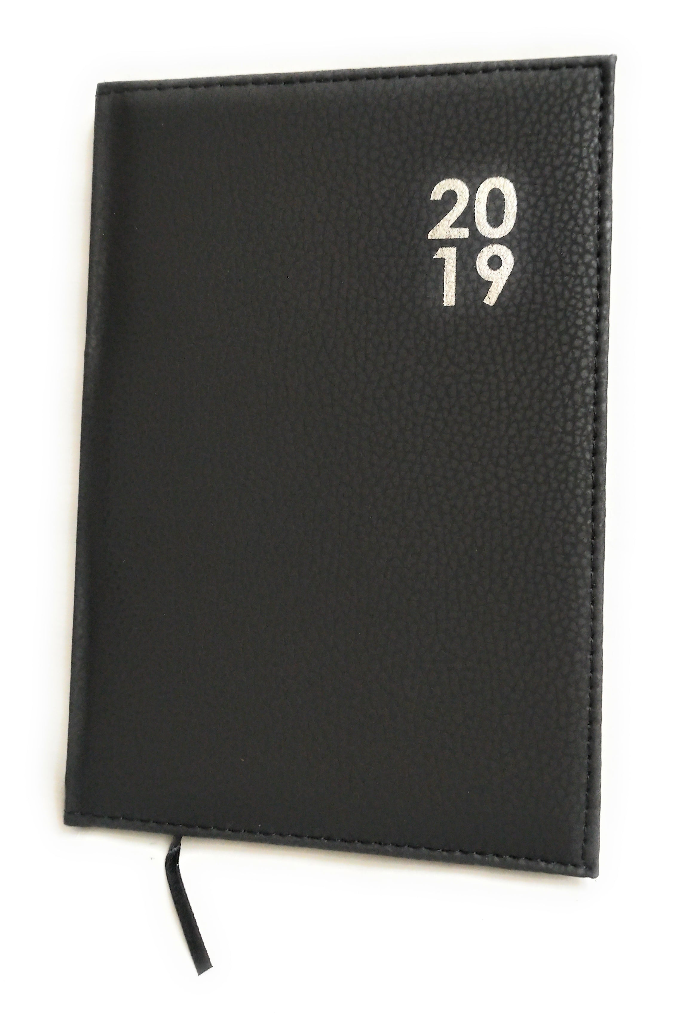 2019 Diary A5 Premium Padded Organiser Week To View Black Xmas Gift