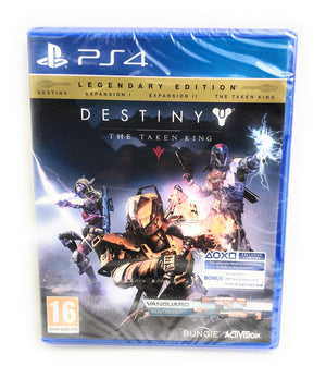 Destiny: The Taken King - Legendary Edition PS4 with Vanguard weapons pack (New)