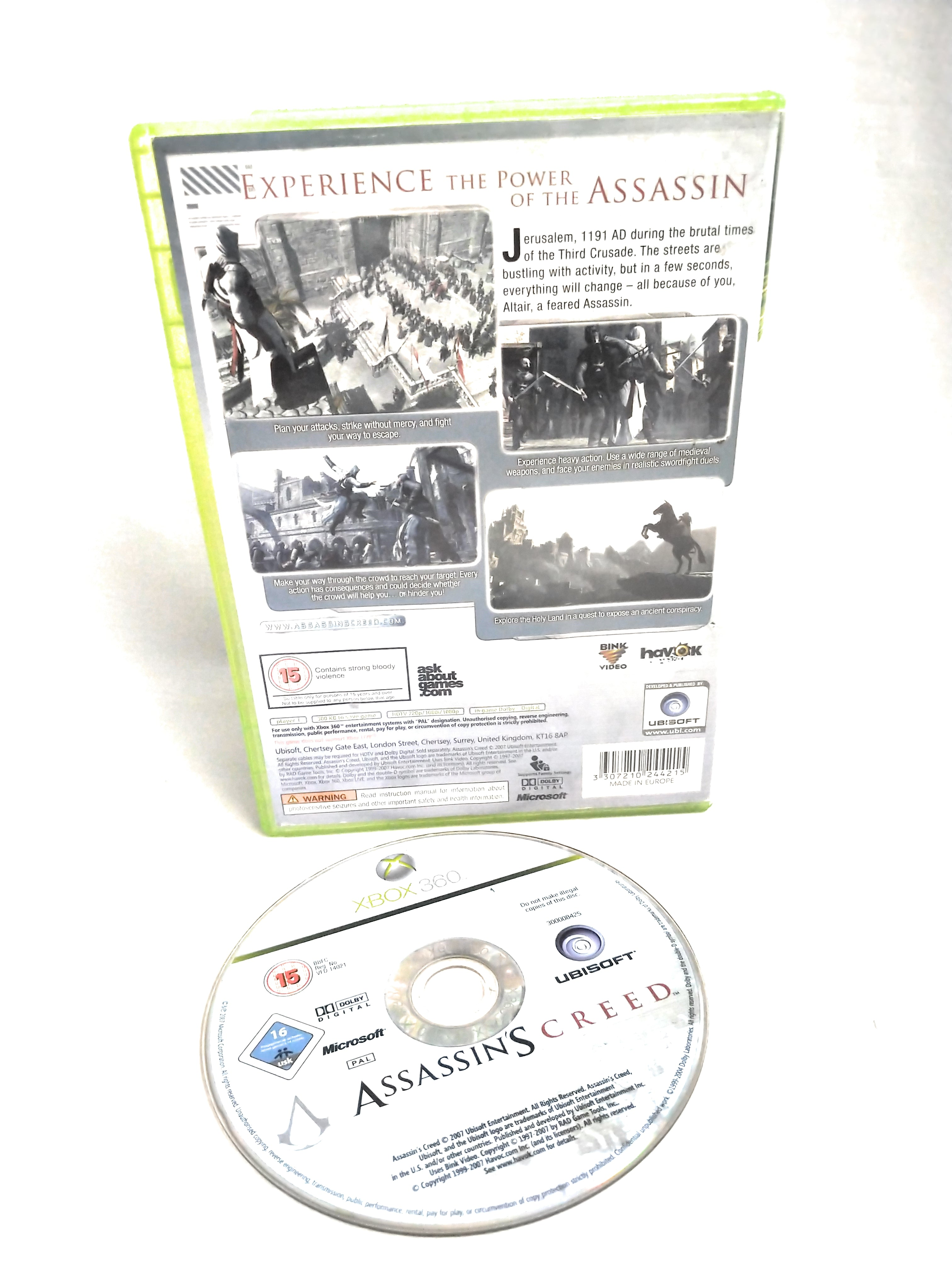 Assassin's Creed (Xbox 360) VideoGames