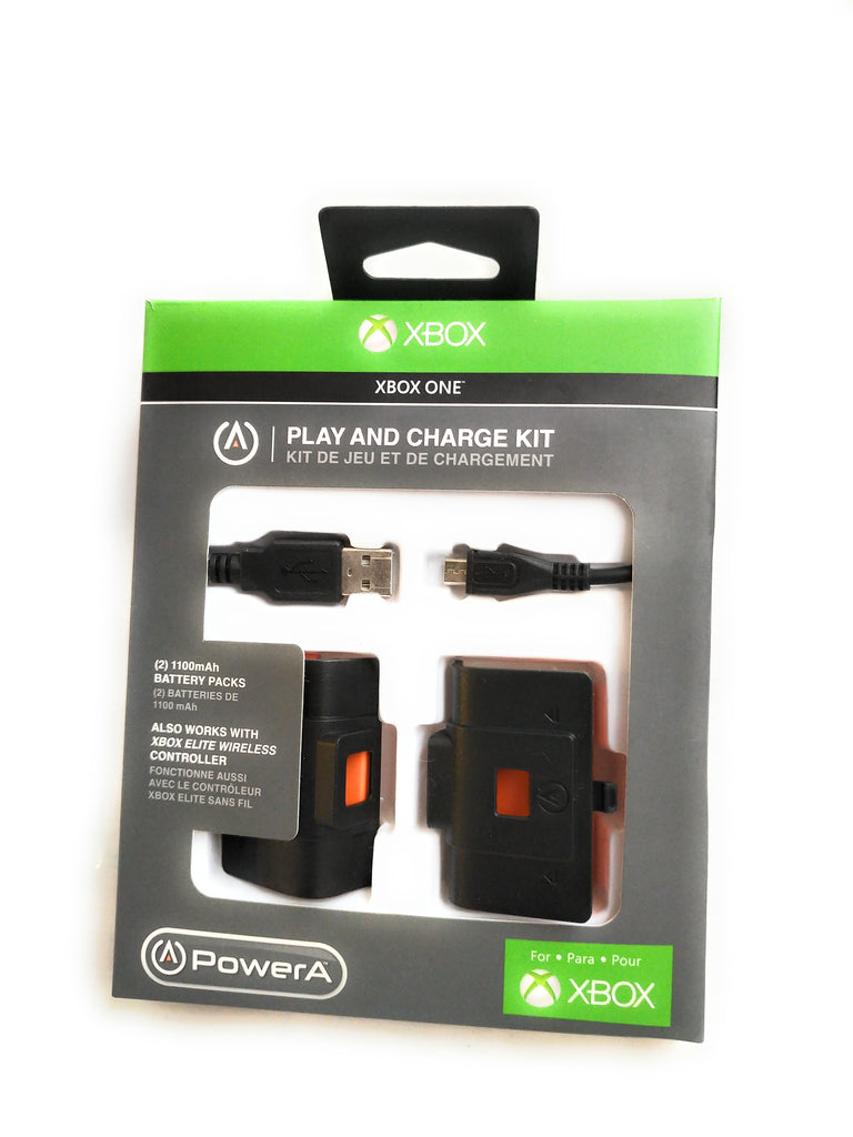 Play and Charge Kit Plus - Officially Licensed for Xbox One