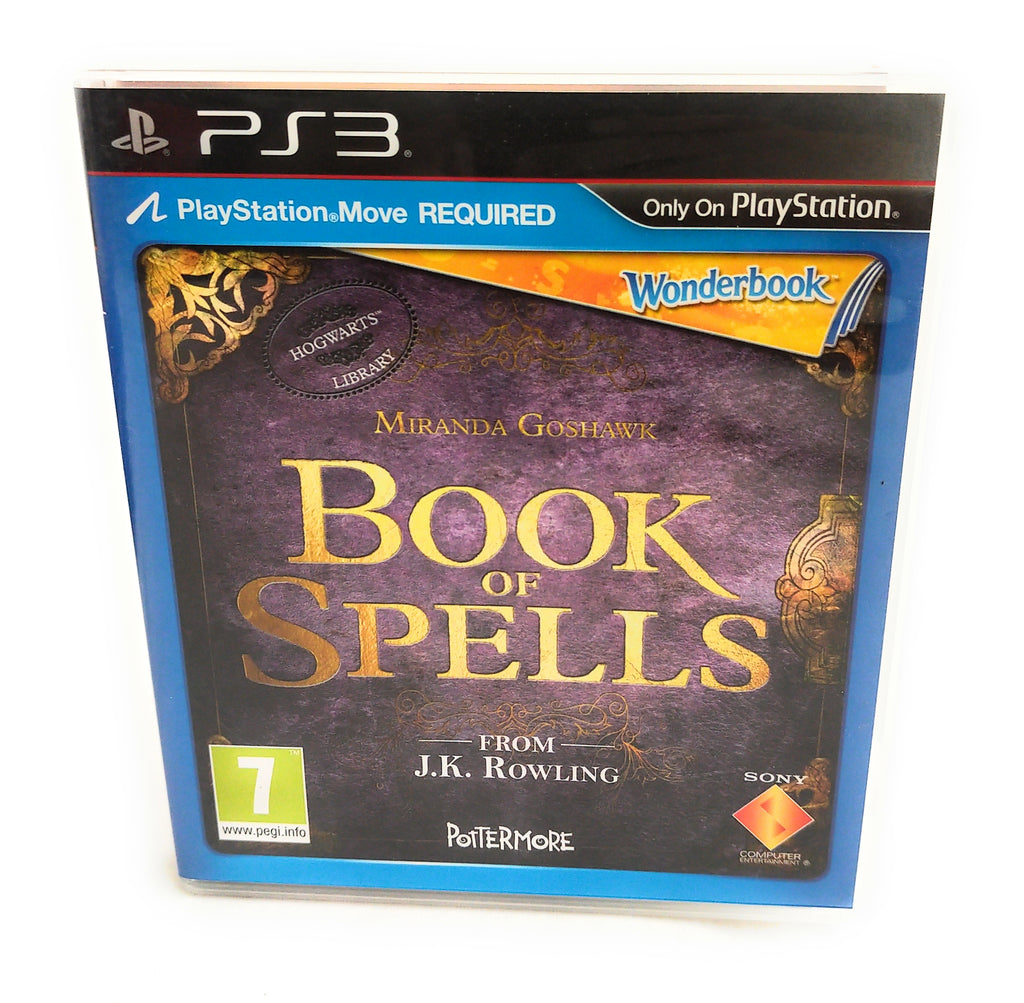 PS3 Wonderbook Book Of Spells Complete