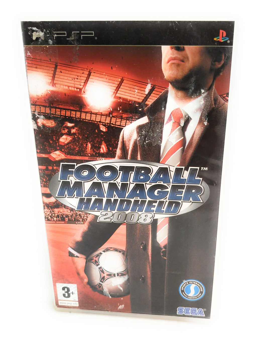 Football Manager Handheld 2008 - Sony PSP - Tested - Boxed with Instructions