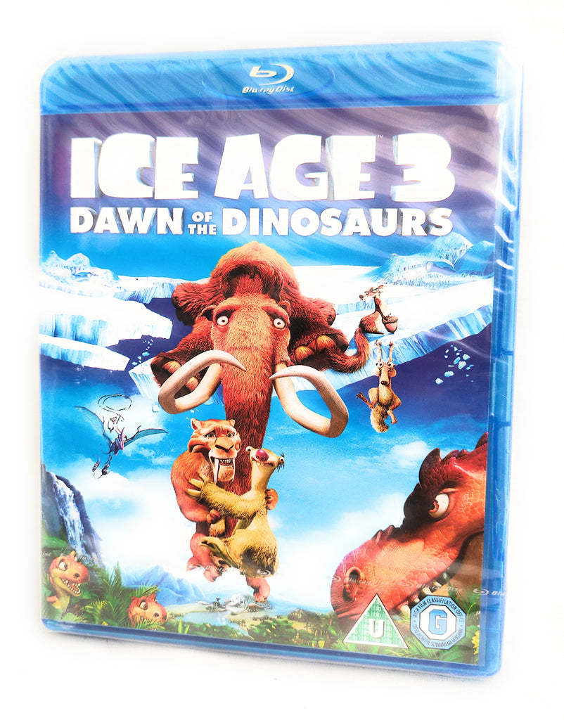 Ice Age 3 - Dawn Of The Dinosaurs (Blu-ray, 2013) new sealed