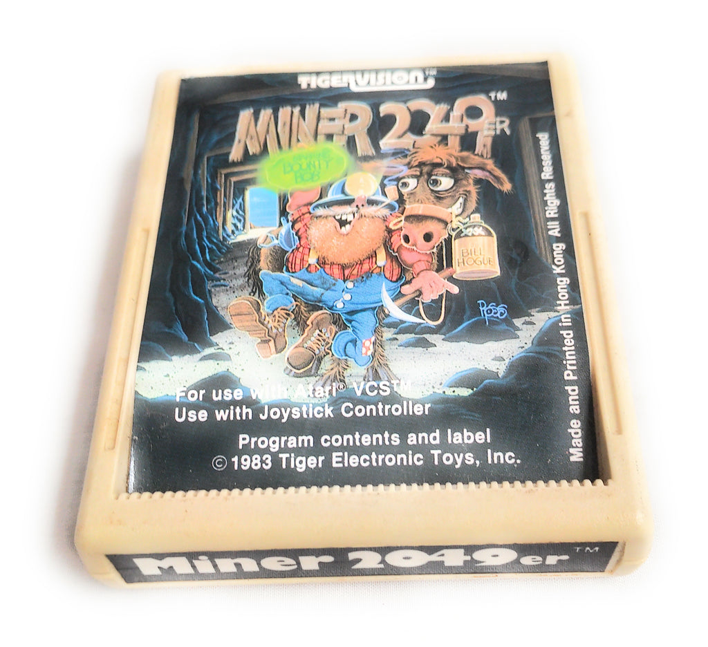 MINER 2049ER by TIGERVISION ATARI 2600 GAME CARTRIDGE