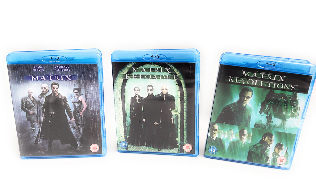 Matrix Trilogy Blu-ray. Matrix/Matrix Reloaded/Matrix Revolutions Bundle