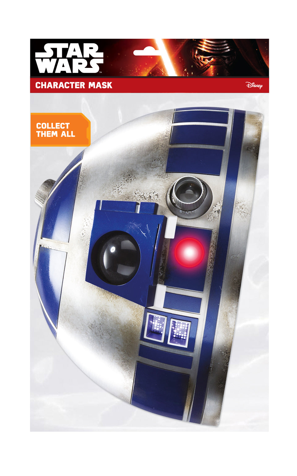 Star Wars Rogue One Last Jedi Face Mask - R2-D2 - NOVELTY GIFT