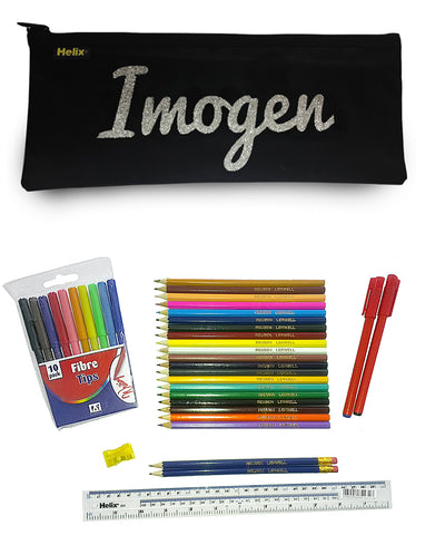 Personalised Printed Pencil Case & Accessories Back to School