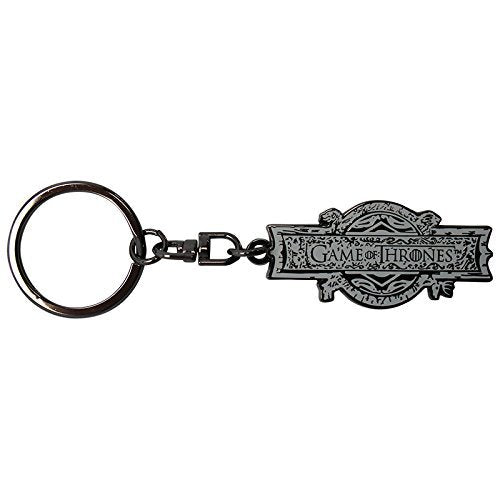 Game of Thrones Opening Logo Keyring Pendant silver-coloured Official Product